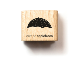 Cats on Appletrees - Mini Stempel Kleine Paraplu