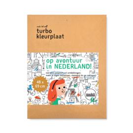 Makii - Turbo Kleurplaat Nederland