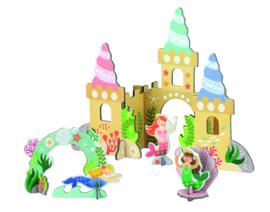 Petit Collage - Pop-out: 3D Zeemeerminnen