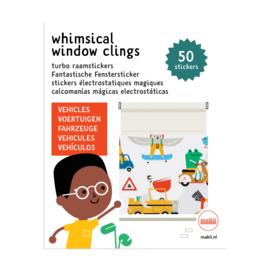 Makii - Window Clings (Raamstickers) - Vehicles