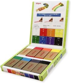 Kitpas - Art Crayons Blokkrijt (8 stuks)