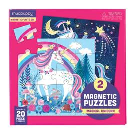 Mudpuppy - Magnetic Fun Magical Unicorn (2 x 20 st)