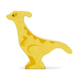 Tender Leaf Toys - Houten Parasaurolophus - 11 cm
