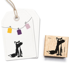 Cats on Appletrees - Stempel Wolf Linus
