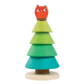 Tender Leaf Toys - Stapeltoren Dennenboom