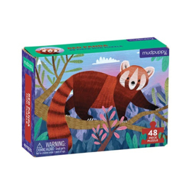 Mudpuppy - Mini Puzzel Red Panda (48 st)