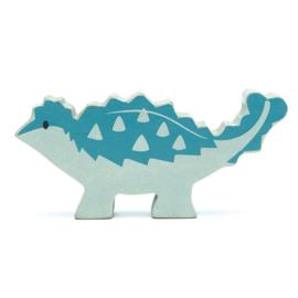 Tender Leaf Toys - Houten Ankylosaurus - 10 cm