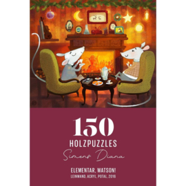 DaVICI - Puzzel Elementair, Beste Watson (150 stuks)