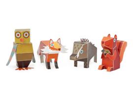 3D figuren & dieren