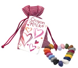 Crayon Rocks - Heart Bag  20 kleuren