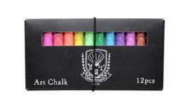 Kitpas - Art Chalk (12 stuks)