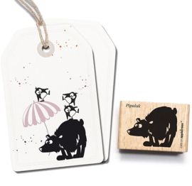 Cats on Appletrees - Stempel IJsbeer Pipaluk