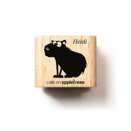 Cats on Appletrees - Stempel Capibara Heidi