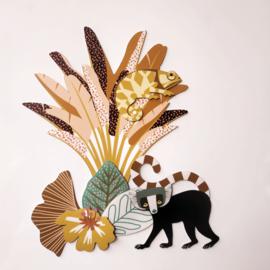 Ma Cabane à Rêves - Magneetset Jungle dieren