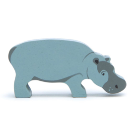 Tender Leaf Toys - Houten Nijlpaard - 9 cm