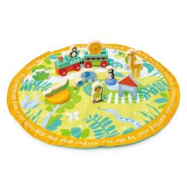 Tender Leaf Toys - Safari in opbergzak 45 x 45 x 9 cm - 16-delig