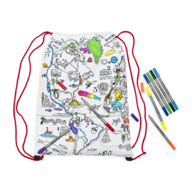 Eatsleepdoodle - Woldmap Backpack