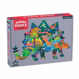 Mudpuppy - Shaped puzzel Dinosaurs (300 st)
