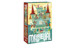 Londji - Observatiepuzzel Go to Medieval Times (100 st)