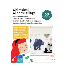 Makii - Window Clings (Raamstickers) - Baby Animals