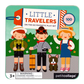 Petit Collage - Magnetic play set: Little miss travel magnetisch