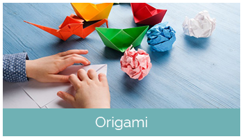 Origami lagoon creagami