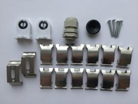 LED TL armatuur 60 cm | enkel | IP65 | EcoSlim
