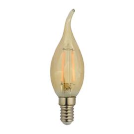 LED Lamp E14 | Vlam | Amber | 1,8W | 2200K | extra warm wit