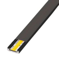 L&S LED Opbouw Profiel | Bilbao slim | Zwart
