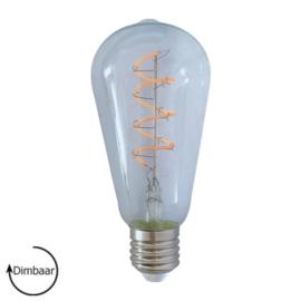 E27 LED Lamp dimbaar | Edison | helder | 4W | 2200K
