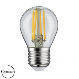 E27 LED Lamp dimbaar | kogel | helder | 4W
