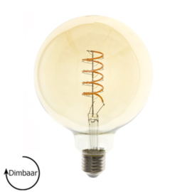 LED Lamp E27 | dimbaar | Globe-L | amber | 4W | 2200K