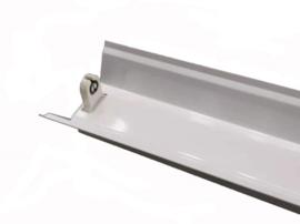 LED TL armatuur 120 cm | enkel | IP22 | Reflector