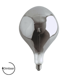 E27 LED Lamp dimbaar | ET | smoke | 6W