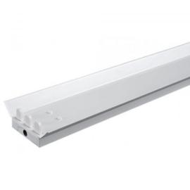 LED TL armatuur 150 cm | triple | IP22 | Reflector
