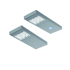 THEBO | Dotty | RVS | 2 keukenspots | touch-LED-dimmer