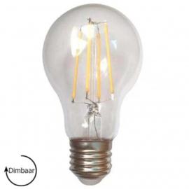 E27 LED Lamp dimbaar | peer | helder | 6,5W