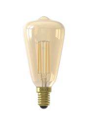 Calex LED Lamp dimbaar E14 ST64 amber 4W 2100K 320lm