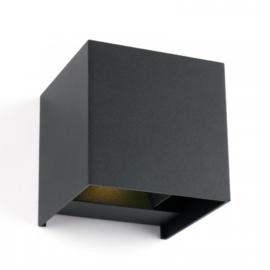 Buitenlamp | Cube | Grijs | IP65