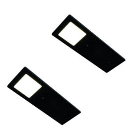 HERA ECO Pad F zwart | dimbare opbouwspots (2x)