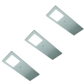 HERA ECO Pad F RVS | dimbare opbouwspots (3x)