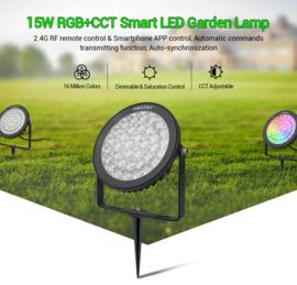 Tuinspot RGB+CCT 15W | met spies