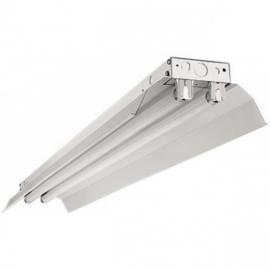 LED TL armatuur 120 cm | dubbel | IP22 | Reflector