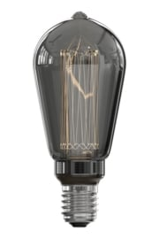 Calex LED Lamp dimbaar ST64 titanium 3,5W 2000K 40lm