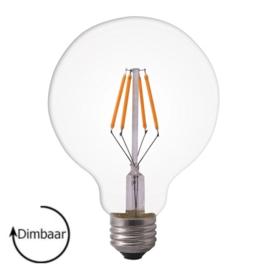 E27 LED Lamp dimbaar | Globe-L | helder | 4W | 2100K