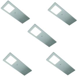 HERA ECO Pad F RVS | dimbare opbouwspots (5x)