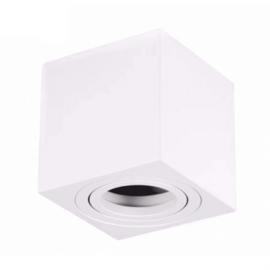 Plafondlamp vierkant | Bari | Wit