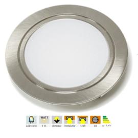 L&S Chip | 1 inbouwspot | 2,5W | 3000K | Ø58mm