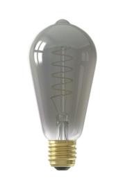 Calex LED Lamp dimbaar E27 ST64 titanium 4W 2100K 100lm