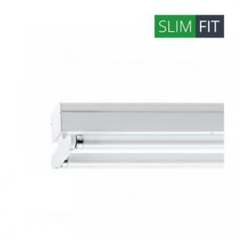 LED TL armatuur 120 cm | dubbel | IP22 | SlimFit